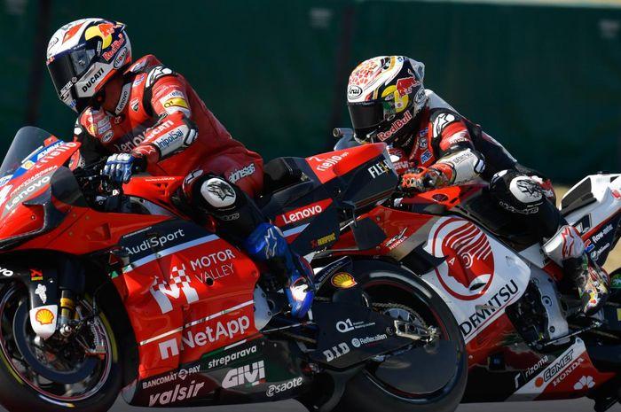 Secara terang-terangan, bos Repsol Honda, Alberto Puig yakinkan Takaaki Nakagami bahwa dia bisa jadi juara dunia MotoGP 2020.