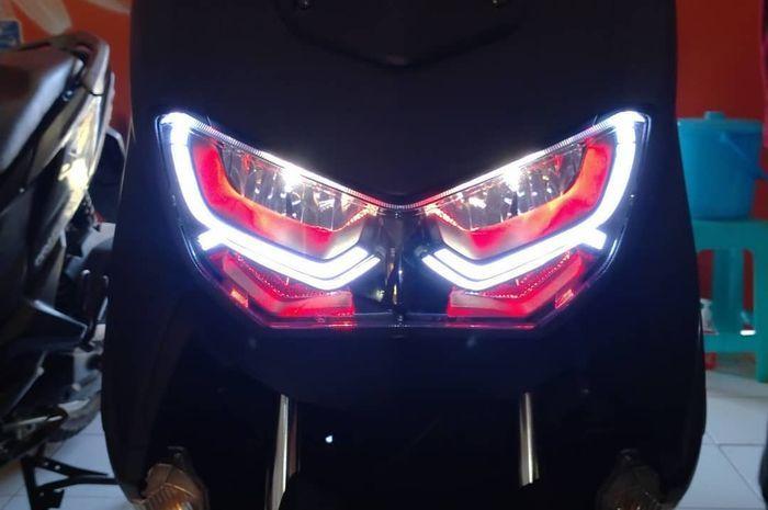 Custom DRL di headlamp Yamaha All New NMAX
