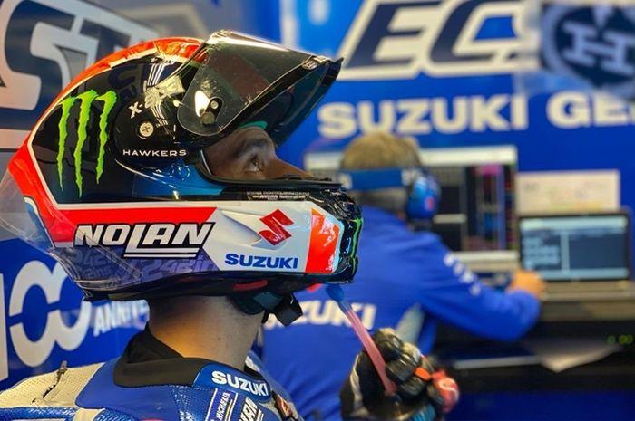 Alex Rins persembahkan podium di MotoGP Catalunya 2020 buat Luis Salom
