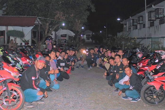 Perkuat persaudaraan di kota Medan, klub motor Suzuki GSX Owner Indonesia (SUGOI) adakan kopdar gabungan.