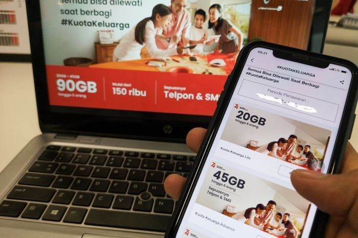 Syaratnya gampang cuma punya nomor HP langsung dapat bantuan kuota internet gratis puluhan Gygabite (Gb) dari pemerintah.