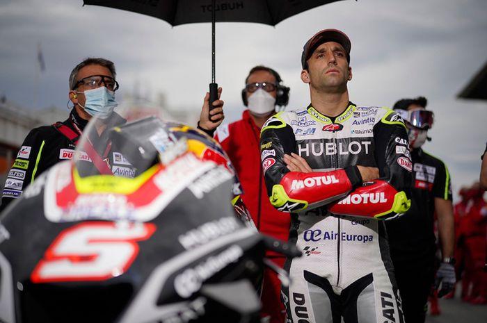 Ilustrasi. Johann Zarco mengaku tidak kecewa kalah dari murid Valentino Rossi Francesco Bagnaia yang resmi jadi pembalap tim Ducati pabrikan musim depan