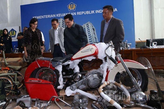 Mantan Dirut Garuda Indonesia, Ari Ashkara jadi tersangka kasus penyelundupan moge Harley-Davidson