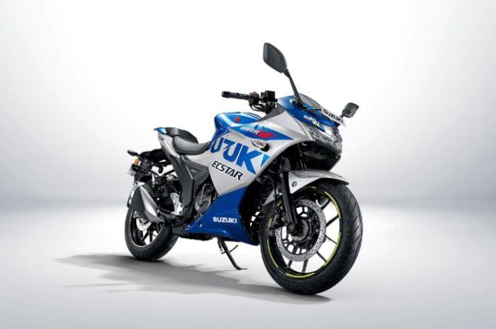 Makin gagah dibalut livery MotoGP akhirnya motor sport Suzuki 250 terbaru meluncur, harganya cuma Rp 35 jutaan.