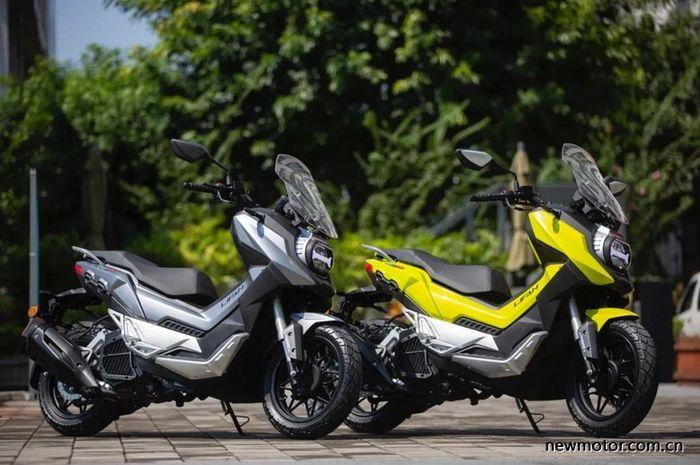 Lifan KPV 150 pesaing Honda ADV 150 asal China