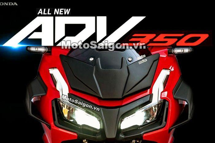 Makin sadis! All New Honda ADV350 siap meluncur, bodynya macho banget punya fitur canggih dibanderol berapa?