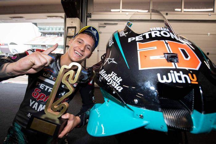 Jelang MotoGP Prancis 2020, Fabio Quartararo senang sambut laga kandang.