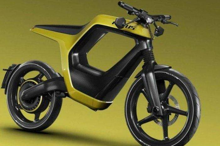 motor listrik Novus dijual hampir Rp 1 miliar