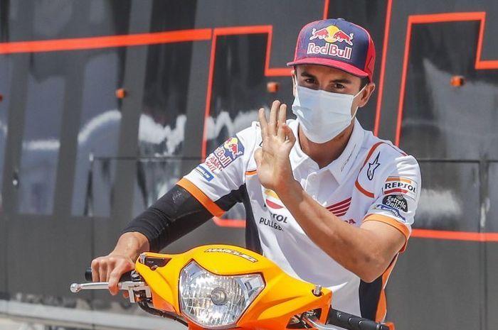Marc Marquez harus rela melepas gelar juara dunia motoGP 2020
