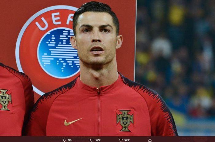 Megabintang Juventus Cristiano Ronaldo positif terjangkit Covid-19
