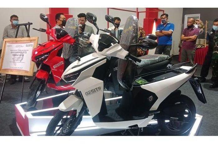 Dealer motor listrik Gesits hadir di Bandung, catat lokasinya
