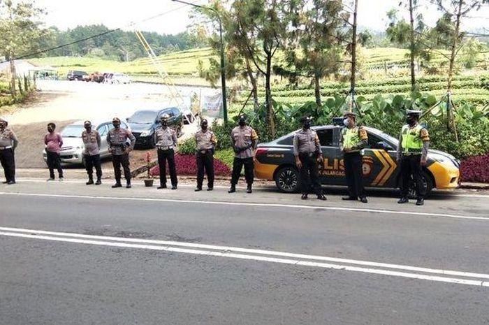 Bikers Subang waspada, Polres Subang sedang gencar lakukan pengawasan kepada peserta sunmori yang kebut-kebutan.