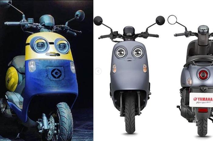 Persis Minions! Yamaha Vinoora motor matic baru dari Yamaha bermesin 125 cc fitur canggih dijual segini harganya.