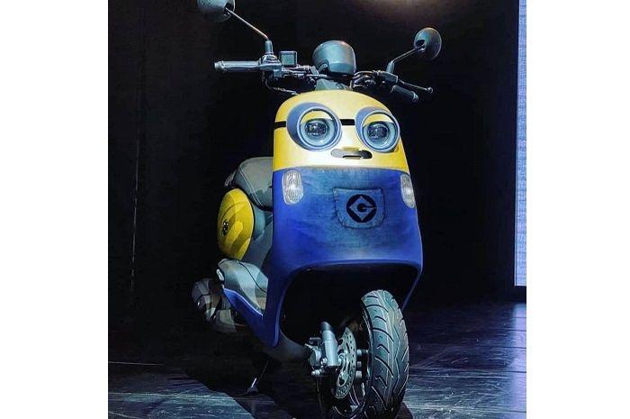Motor baru Yamaha Vinoora desain mirip Minion, harganya bikin panas dingin