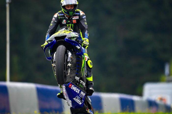 Valentino Rossi terinfeksi virus corona atau covid-19