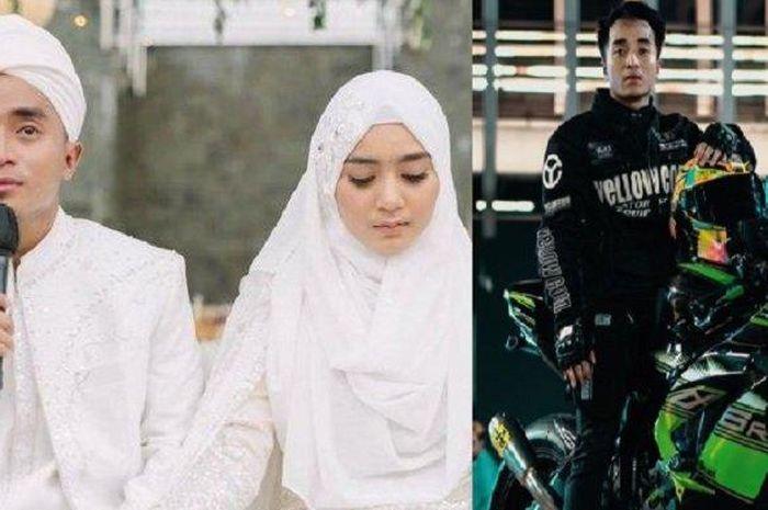 Resmi nikahi selebgram, Sherel Thalib, suaminya ternyata hobi mengoleksi motor gede (moge) dan hafal Al Quran.