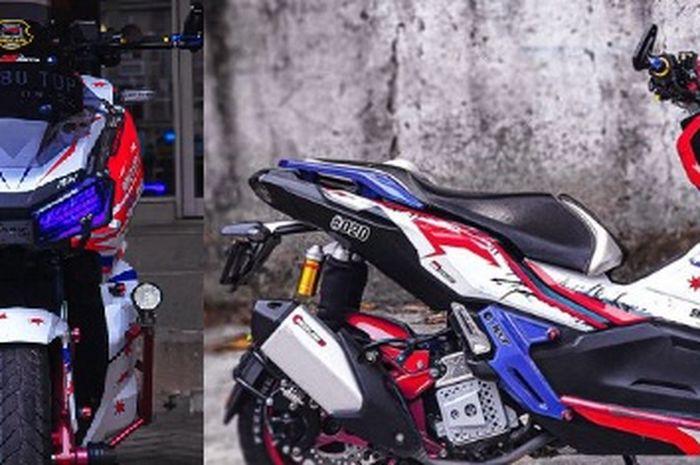 Gila! Ongkos modifikasi Honda ADV150 setara Honda BeAT, demi tampil nyentrik bikin mata melirik.