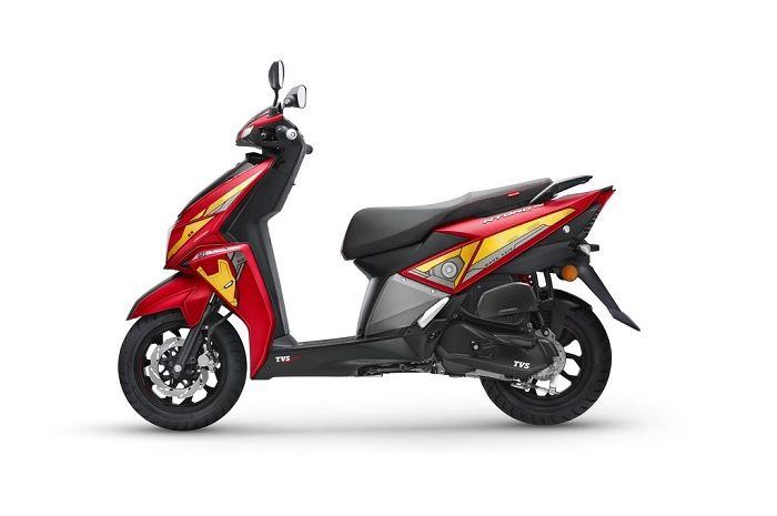 Motor baru TVS NTorq 125 Avengers Edition. Motor Baru Pesaing Honda BeAT Resmi Meluncur dengan Tampilan Ala Avengers, Harga dan Fiturnya Menggiurkan!