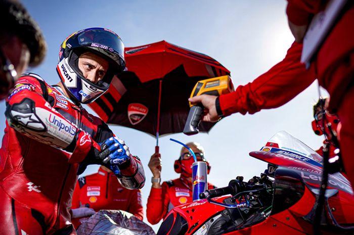 Bukan Yamaha, Honda atau Aprilia, ternyata pembalap Mission Winnow Ducati, Andrea Dovizioso memilih hal ini untuk tahun 2021.