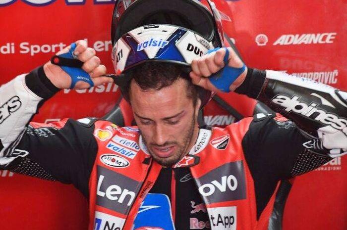 Harus start dari posisi ke-17 di MotoGP Teruel 2020, pembalap Mission Winnow Ducati, Andrea Dovizioso merasa frustasi dan menyerah.