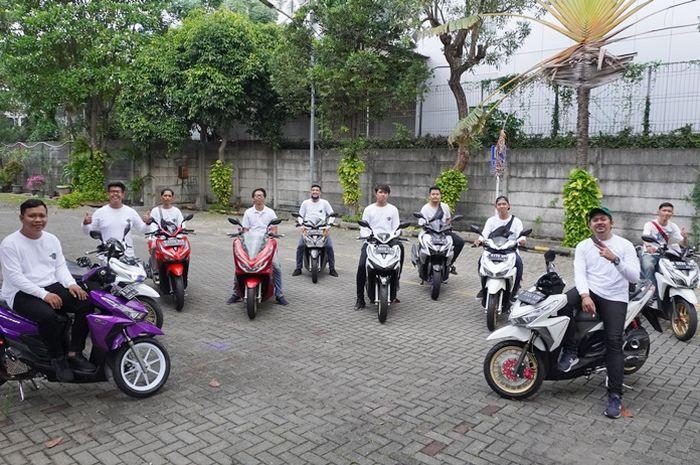 Matic Ride Indo dikenal sebagai komunitas yang maniak modifikasi