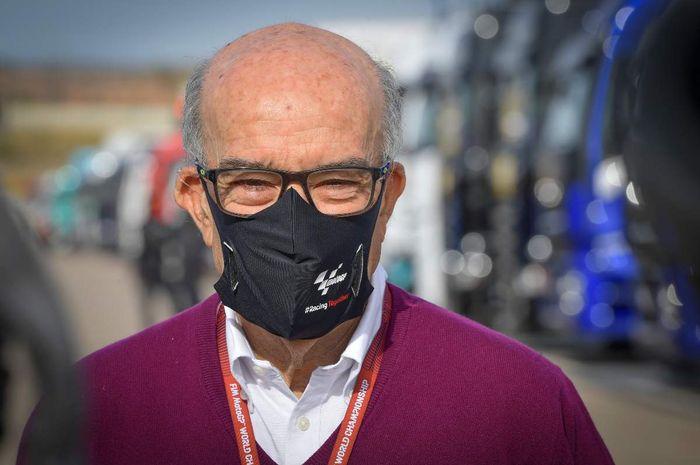 Tetap digaspol, CEO Dorna Sports, Carmelo Ezpeleta tidak khawatir dengan gelombang kedua virus Corona di Spanyol.