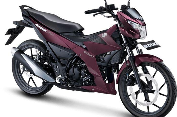 Suzuki Satria penyegaran 3 warna baru