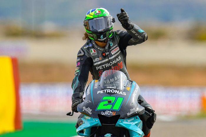 Jadi juara di MotoGP Valencia 2020, murid Valentino Rossi, Franco Morbidelli mengaku sempat marah dengan Yamaha, kenapa ya?