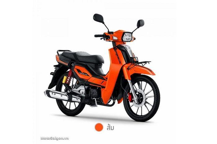 Resmi meluncur motor baru GPX Rock 110 desain klasik harganya mirip-mirip Honda BeAT