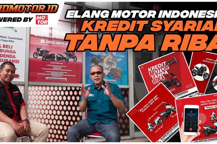 Untuk kaum muslimin bisa nih memiliki motor dengan cara mencicil tanpa riba dari Elang Motor Indonesia