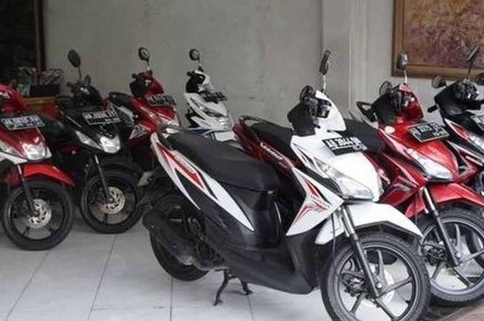 Ilustrasi dealer motor bekas. 5 motor bekas harga Rp 3 jutaan, mulai dari Honda BeAT sampai motor sport Suzuki