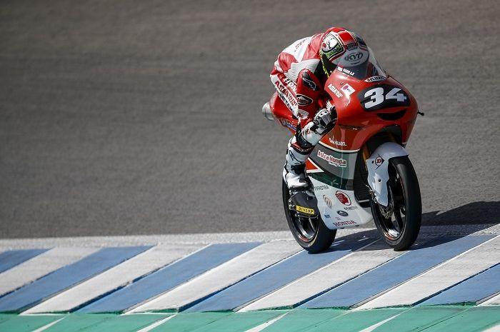 Pembalap Indonesia Mario Suryo Aji siap geber di FIM CEV Moto3.