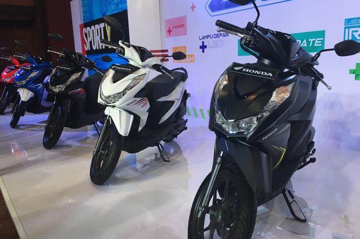 Ilustrasi motor baru All New Honda BeAT yang launching pada Kamis (16/1/2020).