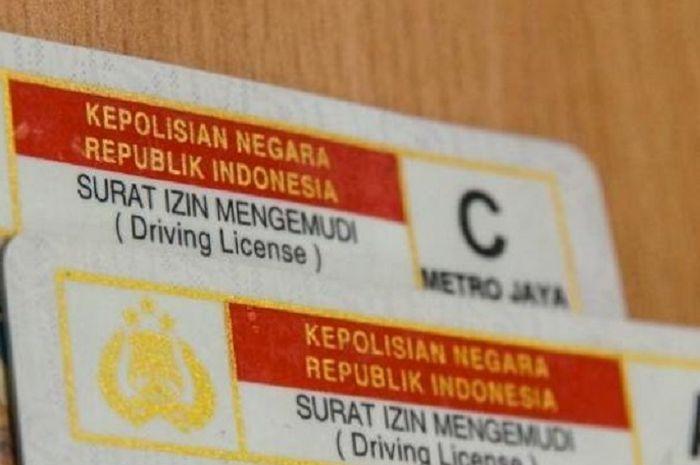 Apa iya SIM C akan dibagi menjadi 3 jenis sesuai CC motor? Intip penjelasan polisi.