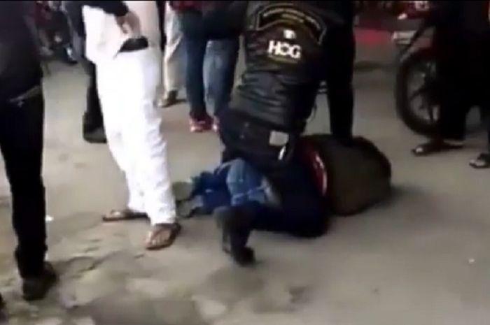 13 moge Harley-Davidson disita polisi, 2 orang ditetapkan tersangka pengeroyok anggota TNI, IMI Pusat langsung bereaksi.