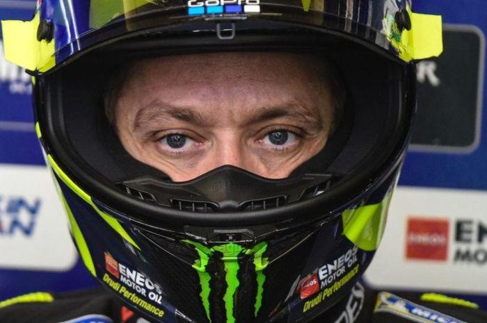 Pembalap tim Monster Energy Yamaha, Valentino Rossi masih positif virus Corona, terancam absen lagi di MotoGP Eropa dan Valencia 2020?