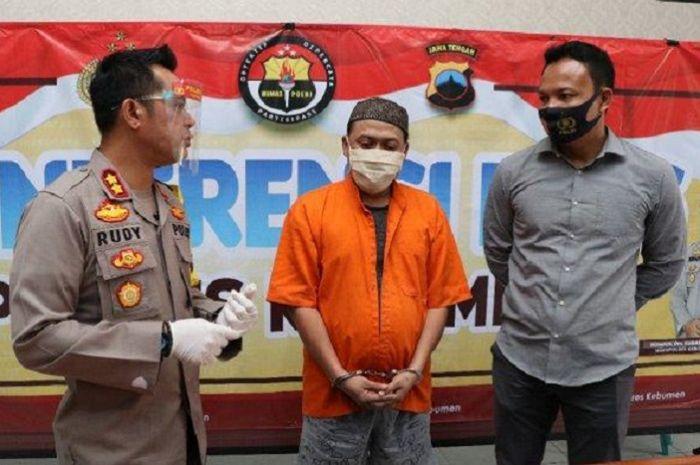 Debt collector di Kebumen tertangkap polisi membawa sabu, diakuinya agar nyalinya bertambah