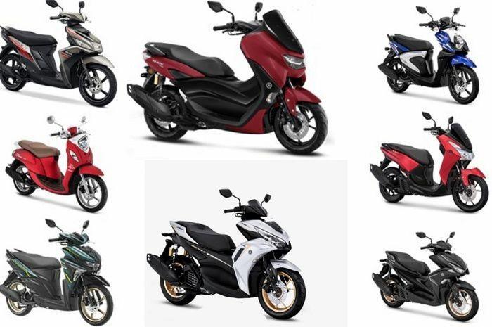 Update harga motor matic Yamaha, Yamaha All New Aerox 155 meluncur hari ini