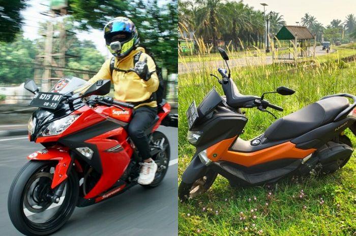 Pagi-pagi dua motor hilang dari satu rumah digasak maling motor, ada Yamaha NMAX dan Kawasaki Ninja 250 FI