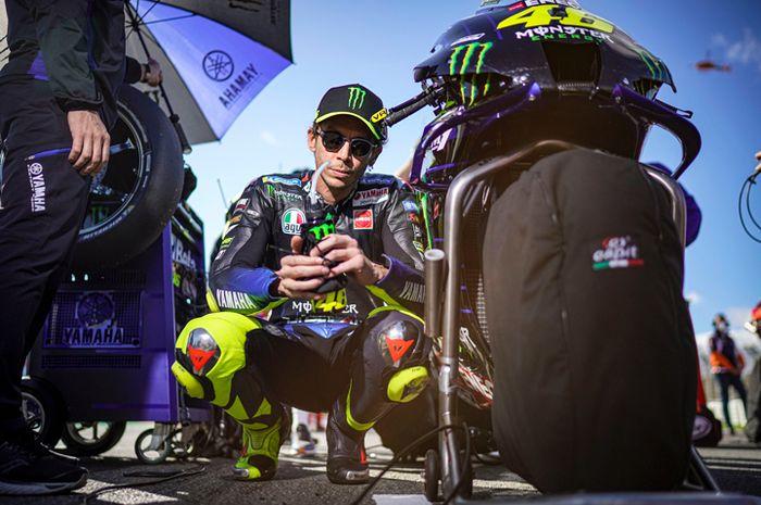 Valentino Rossi jadi sosok paling heboh di MotoGP 2020