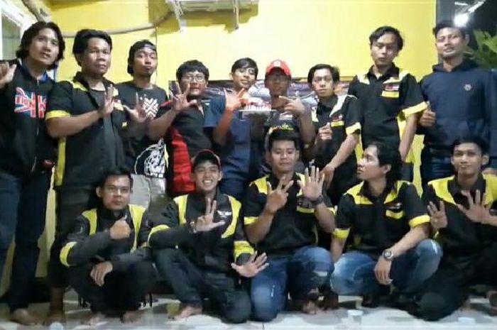Komunitas Satria F150 (KSF) merayakan ultah sewindu-nya dengan mengusung semangat satria tanpa batas.