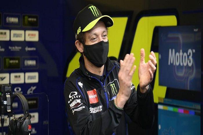Ilustrasi. Valentino Rossi disaranin pengamat MotoGP supaya pensiun, cuma gara-gara ini.