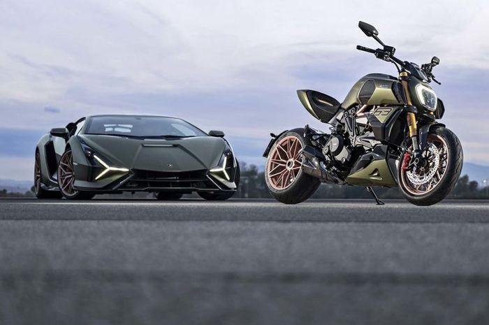 Ducati berkolaborasi Lamborghini luncurkan Diavel 1260