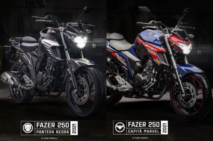 Yamaha luncurin motor baru edisi Avengers. Harga Murah Meriah, Motor Baru Yamaha Edisi Avengers Meluncur