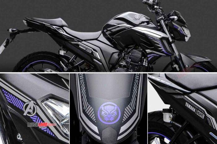 Yamaha FZ25 edisi Black Panther.