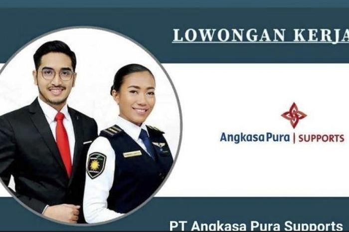 Daftar sekarang! Lowongan kerja BUMN PT Angkasa Pura untuk lulusan SMA/SMK, buruan 5 hari lagi tutup nih.