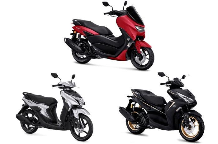 3 motor matic Yamaha resmi meluncur di Indonesia bulan November 2020, segini harganya