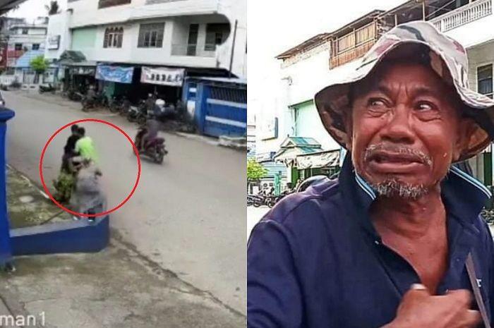 Bejat, kakek-kakek di Kota Baubau, Sulawesi Tenggara jadi korban jambret, uang untuk beli kain kafan lenyap dirampas pelaku