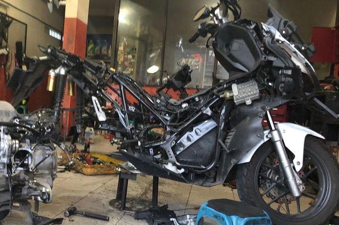 Bore up Honda ADV 150 jadi 153 cc