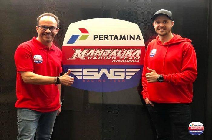 Resmi! Pertamina Mandalika SAG Team gaspol di Moto2 2021!